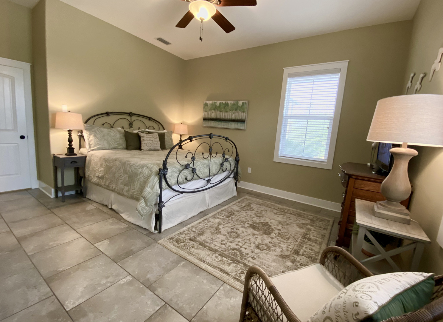 B First Floor Master Suite with King Bed