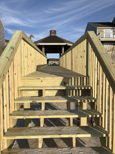New Stairs to the Beach