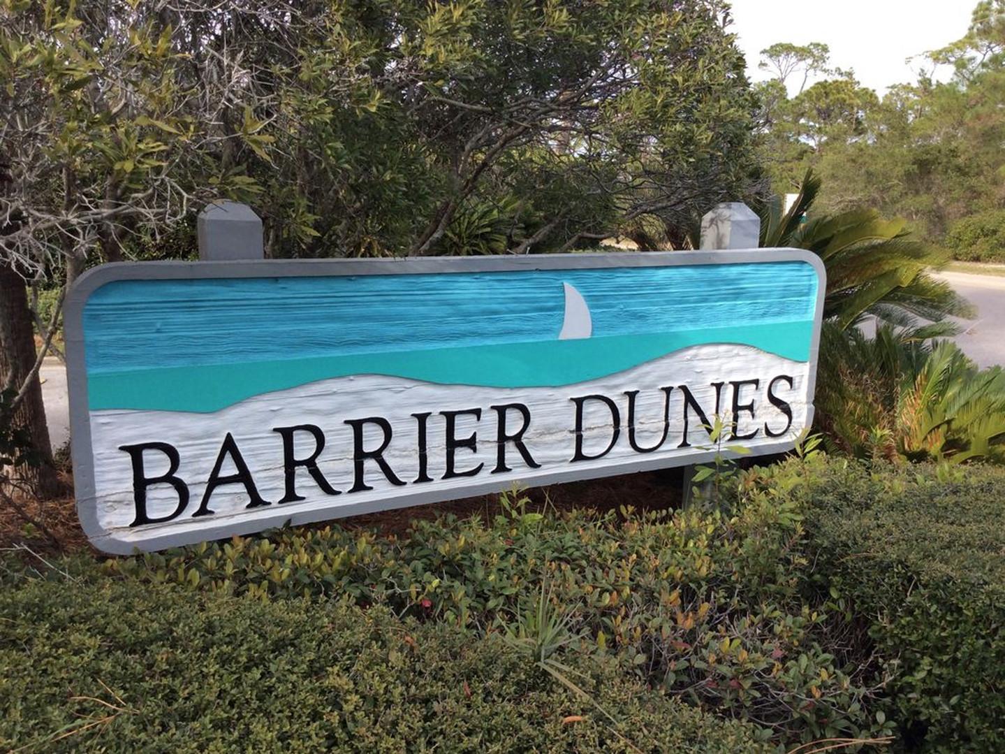 Barrier Dunes entrance
