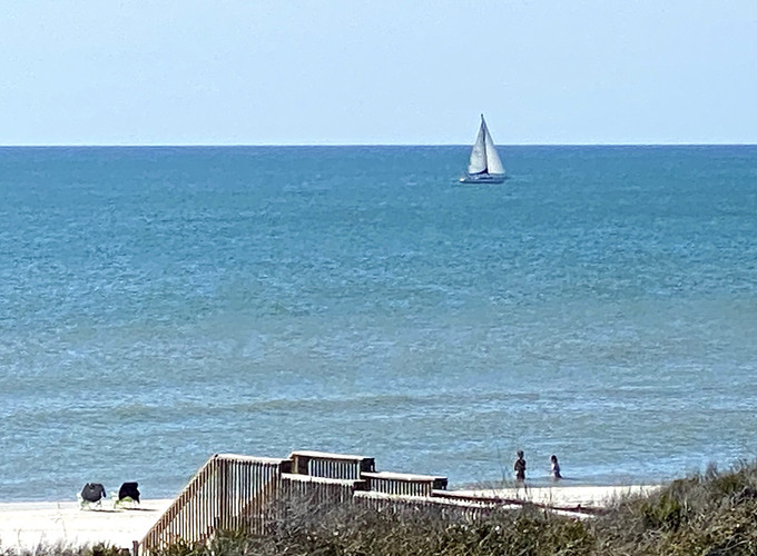 35 Sailboat in the Gulf