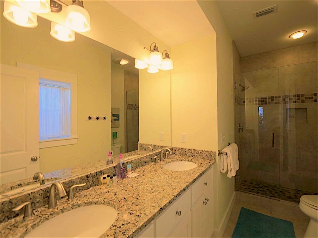 Master Bathroom on 1st Floor