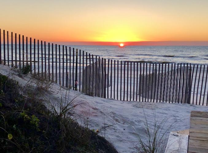 37 Barrier Dunes Sunset
