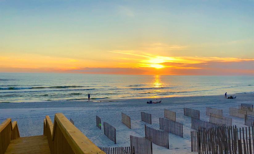 36 Sunset at Barrier Dunes
