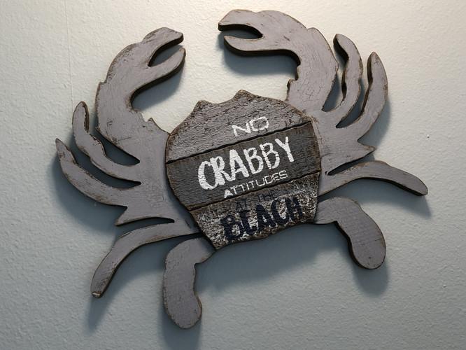 No Crabs Here