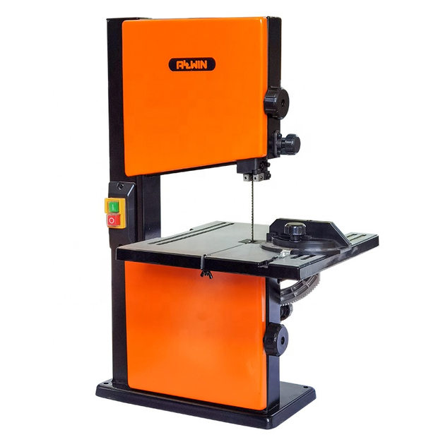 Band Saw Machine 120 volt 1/3HP induction motor vertical wood cutting band saw