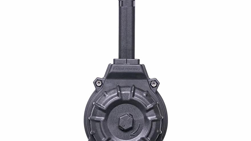 ProMag Magazine Glock 17, 19 9mm Luger 50-Round Drum Polymer Black