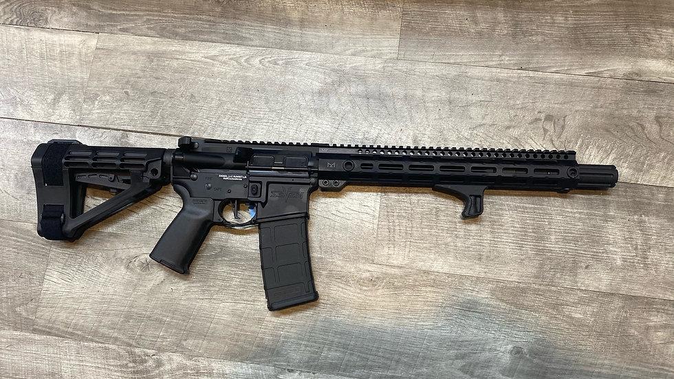 """V Seven AR-15 pistol with Rainier select 12.5"""" barrel 5.56"""