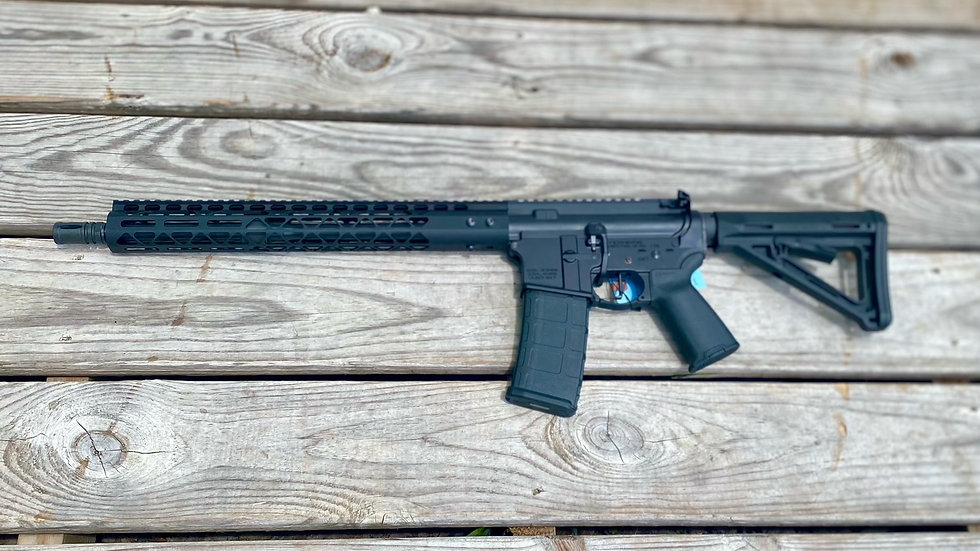"VSeven AR-15 Rifle Stag 16"" 556"