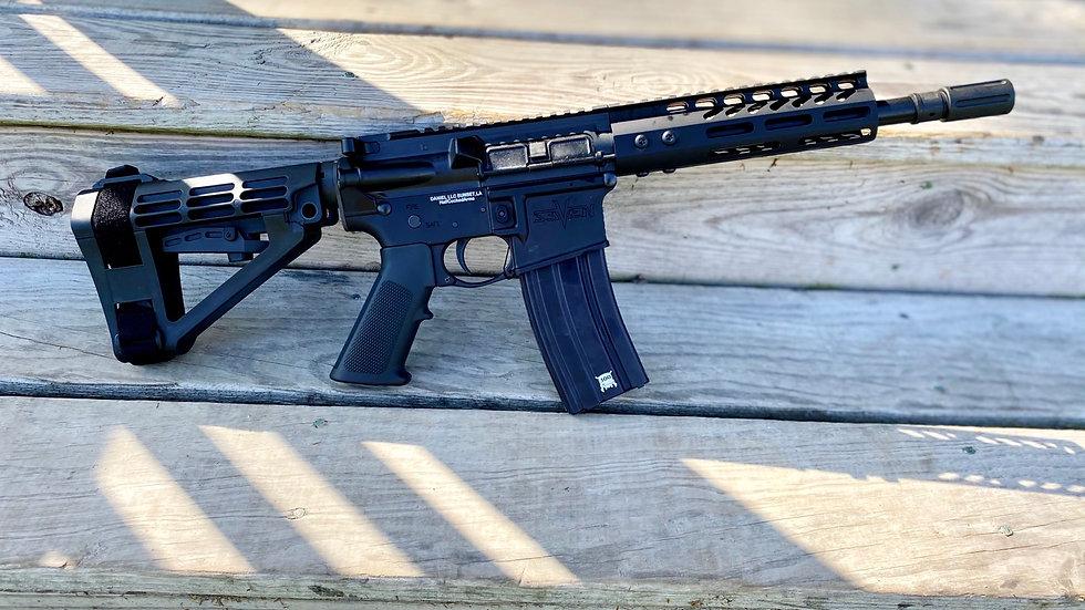 "VSeven  AR-15 9"" Ballistic Advantage 300 Blackout"