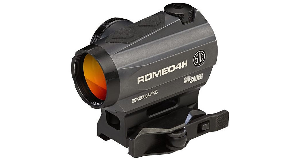 Sig Sauer Romeo4 1x20mm Compact Red Dot Sight (Green)