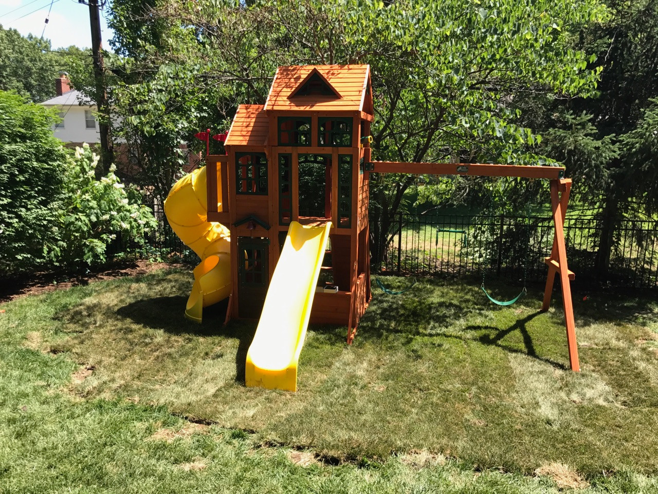 crider u0027s hauling and deliver swingset assembly st louis area