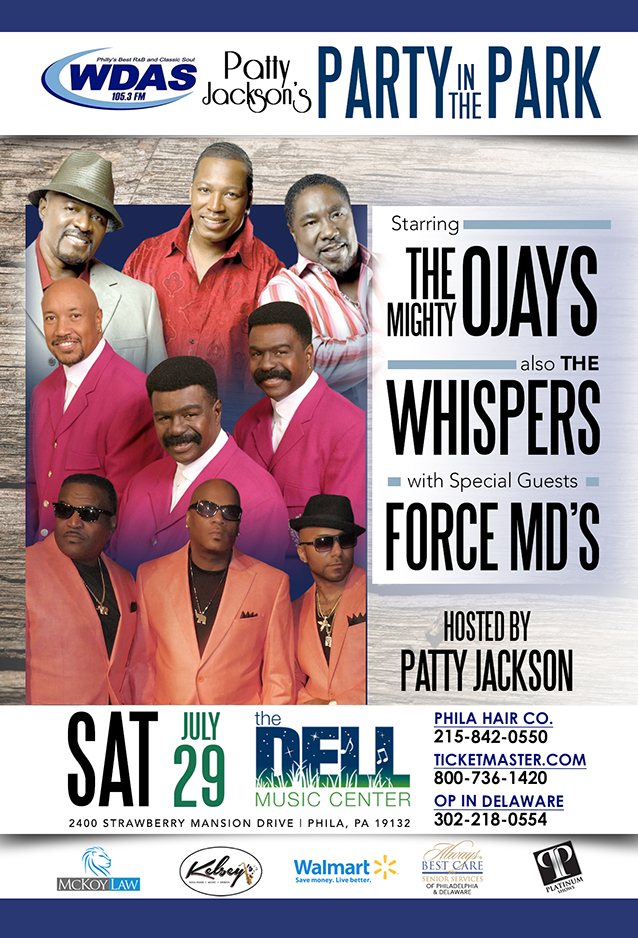 Patty -O'Jays and Whispers Dell  2017