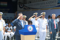 인도해군대상 함정공개행사