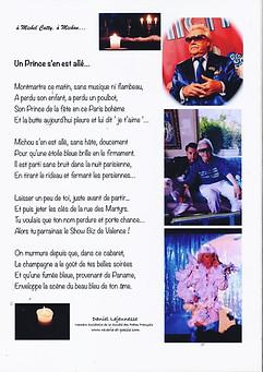 Cadeau offert au Cabaret le Show Biz par Daniel Lajeunesse