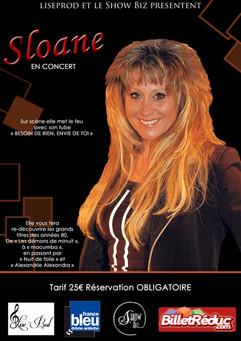 Sloane en concert au Cabaret le Show Biz
