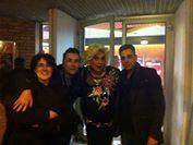 Myriam Ben Salem (adjointe à la culture de Bourg les Valence) et notre amie Ziz