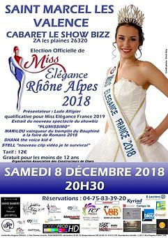 Le Show Biz fiere d'avoir acceuilli l'election Miss Eléguence 2018