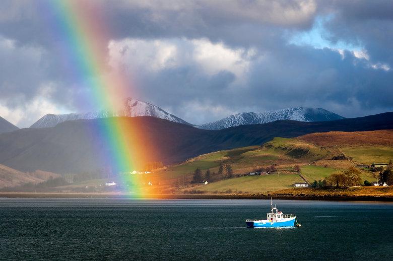 Loch on the Isle of Skye