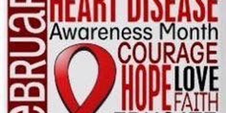 Valentine Basket Raffle Heart Disease Awareness month