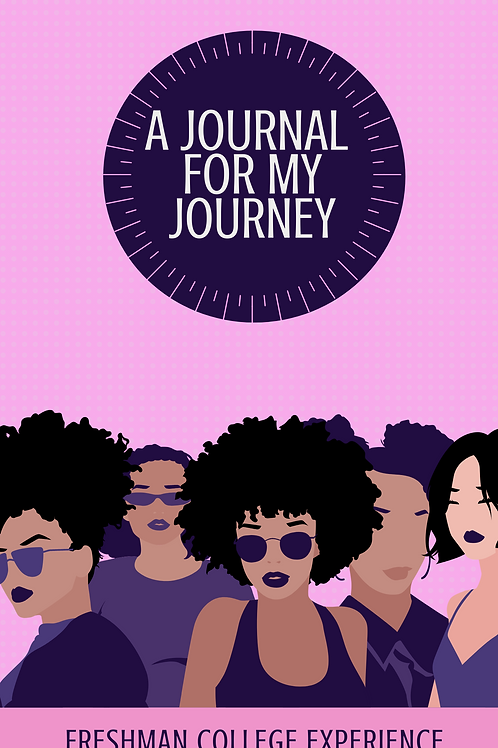 A Journal For My Journey-Purple