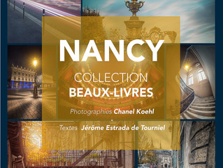 NANCY portrait d'une ville à paraitre