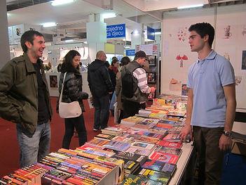 Interliber, Zagreb; Posao prodaje knjiga