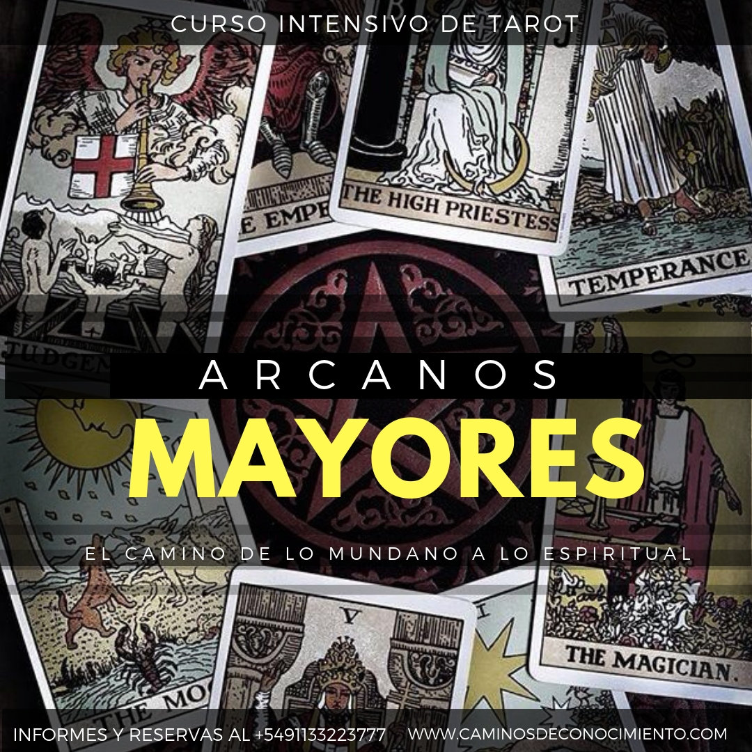 CURSO DE ARCANOS MAYORES PREGRABADO