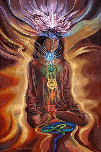 """La palabra Chakra se deriva del idioma Sánscrito y se puede traducir como """"rueda"""", en referencia a un vórtice de energía en nuestro campo bioenergético."""