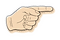 ludzki-reka-rocznika-rysunek-z-palcem-ws