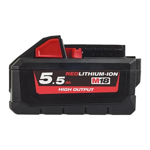 Milwaukee Bateria 18V 5.5Ah HIGH OUTPUT™ M18 HB5.54932464712
