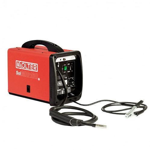 SOLTER Máquina Soldar Solmig 160 GAS/NO GAS