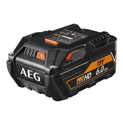 AEG Bateria 18V 6.0Ah HIGH DEMAND L1860RHD 4932464754