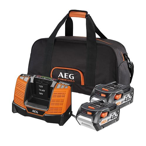 AEG KIT 18V 4.0Ah SET LL1840BL4932464157