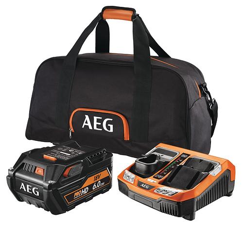 AEG KIT 18V 6.0Ah HIGH DEMAND SET L1860RHDBLK4932464756