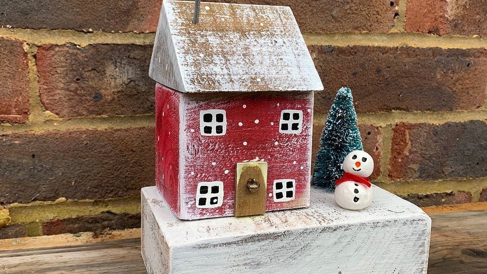 Let it snow winter house