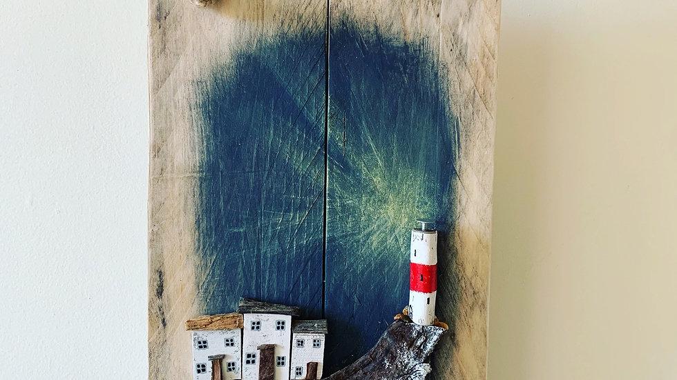 Lighthouse hanging art