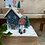 Thumbnail: Santa stop here sign wooden Christmas house
