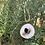 Thumbnail: Bee happy hanging log slice gift