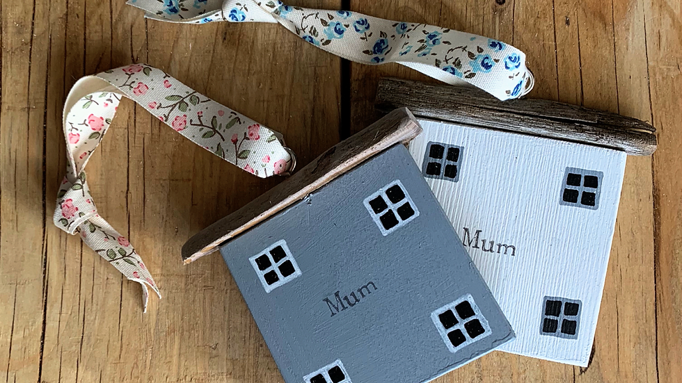 Wooden house Mother's Day gift