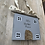 Thumbnail: Personalised wooden hanging sign, new home gift