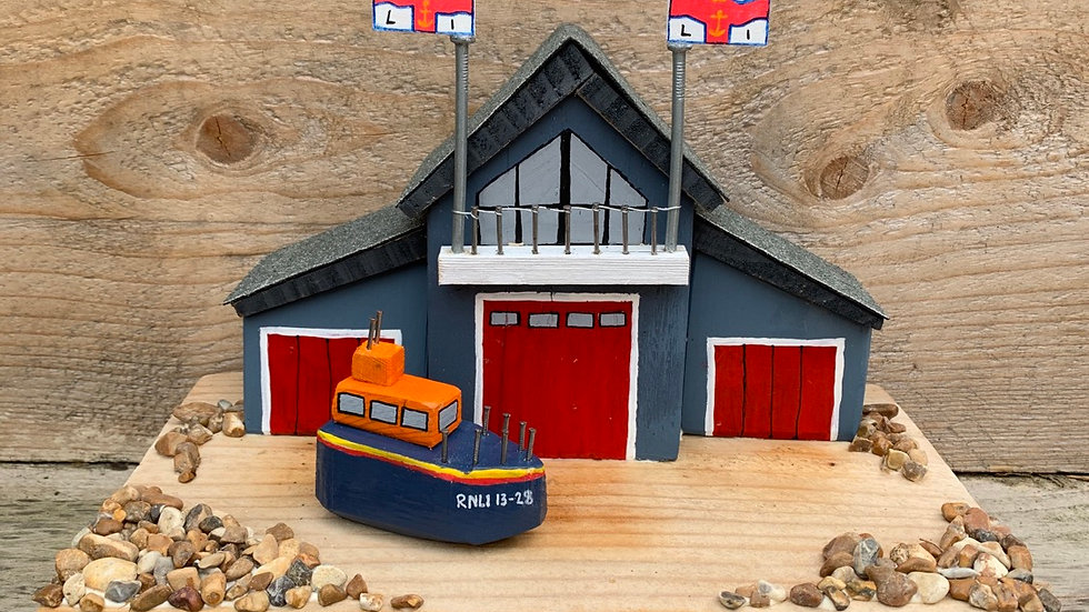 *Available,  Made to order. Hastings life boat station