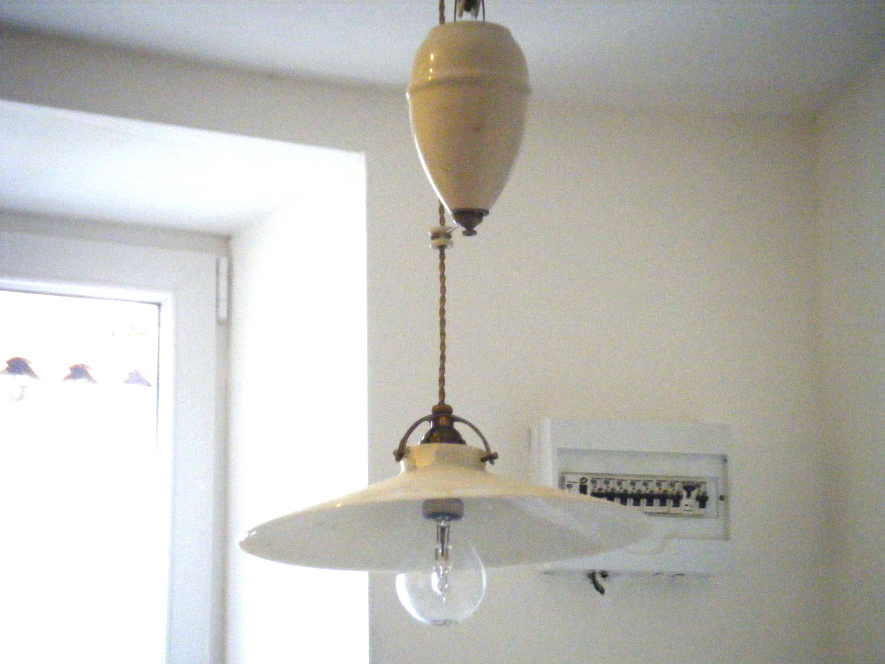 Antique light fitting