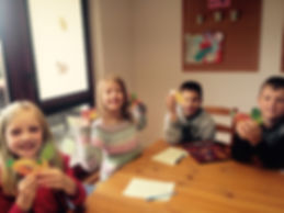 na zajęciach dziecaki są zawsze uśmiechnięte!