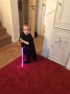 Czy to jest Darth Vader? Halloween rulez!