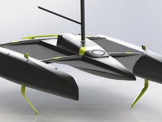 Catamaran Coming soon ! @skymyboat#vplpdesign #catamaran #skymyboat