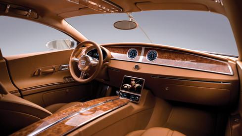 Bugatti Galibier design inter Etienne Salomé