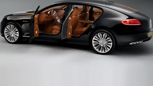 Bugatti Chiron design inter Etienne Salomé