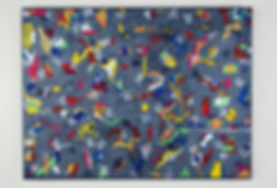 """Pandemonium"" ""Canvas"" ""painting"" Fine Art"""