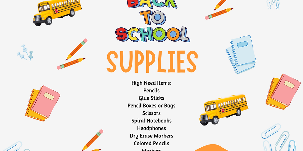 Back-2-School Supply Drive