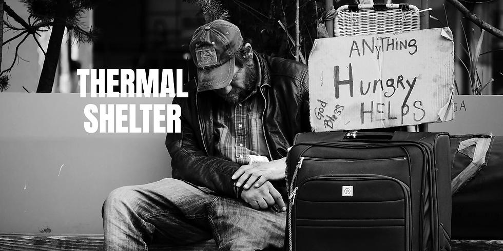 Volunteers Needed- Thermal Shelter